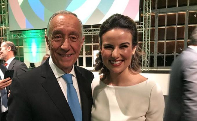 Marcelo Rebelo de Sousa e Úrsula Corona