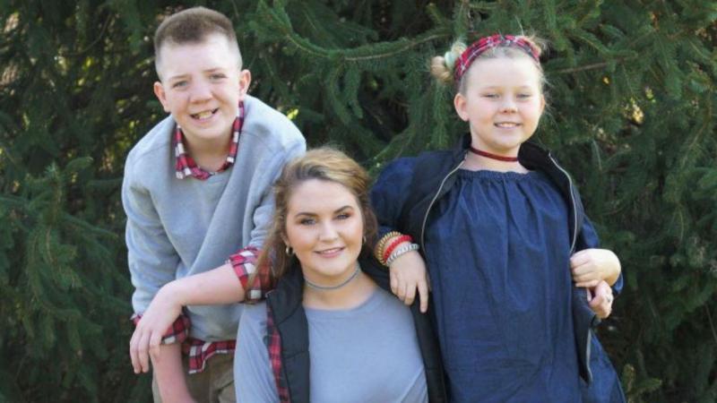 A irmã mais velha de Keaton tem partilhado muitas das mensagens de apoio que o menino tem recebido através das redes sociais