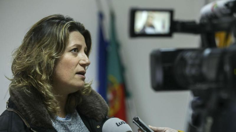 Nádia Piazza - presidente da Associação das Vítimas do Incêndio de Pedrógão Grande (AVIPG)