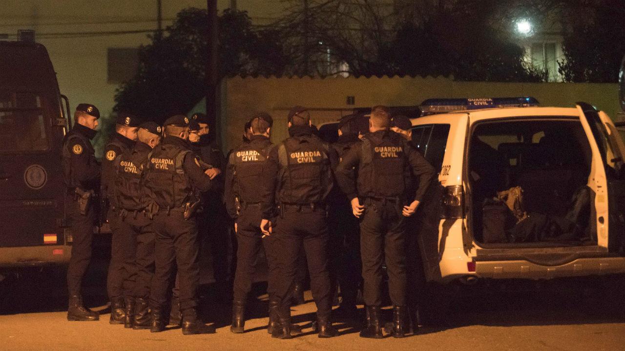 Operação policial em Espanha