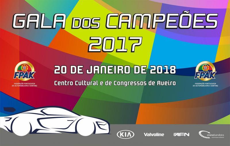 Gala dos Campeões FPAK 2017 realiza-se em Aveiro