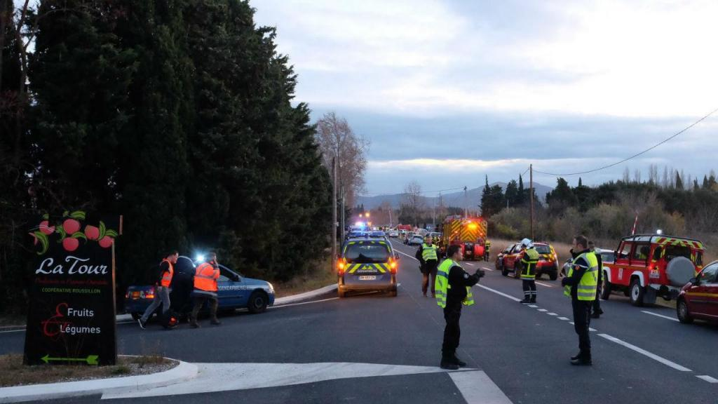 Acidente com autocarro em França