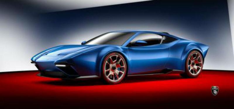 Ares Project Panther (reprodução Ares Design  Modena)