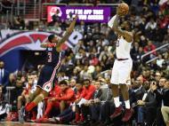 LeBron James na vitória dos Cleveland Cavaliers sobre os Washington Wizards