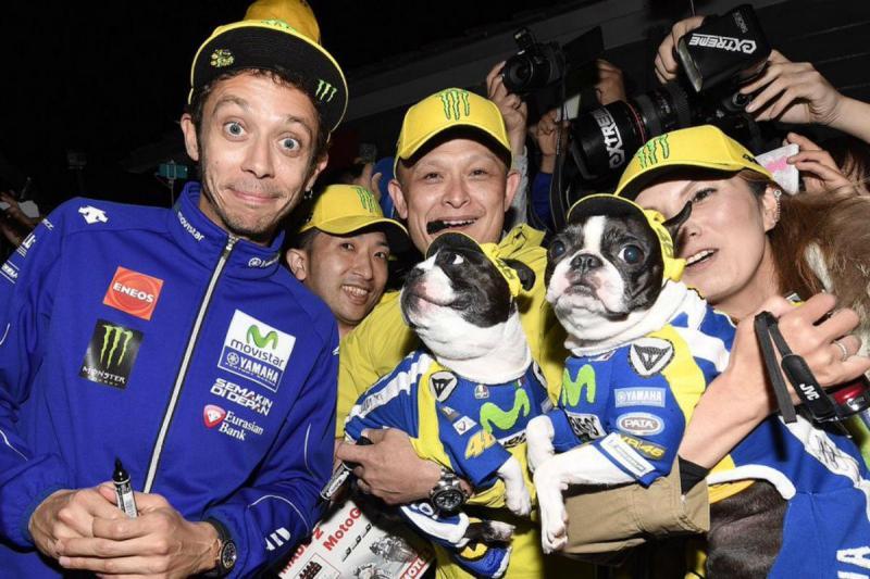 Valentino Rossi é o preferido dos italianos