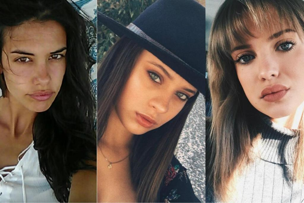 Isabela Valadeiro, Daniela Melchior e Júlia Palha