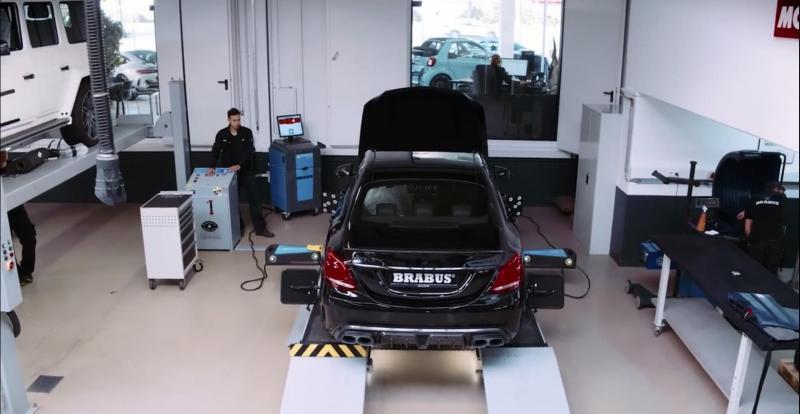 Brabus revela como faz a preparação dos carros