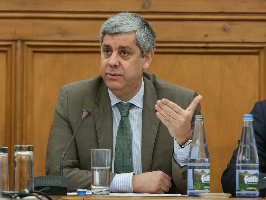 Ministro Mário Centeno na Comissão de Trabalho e Segurança Social