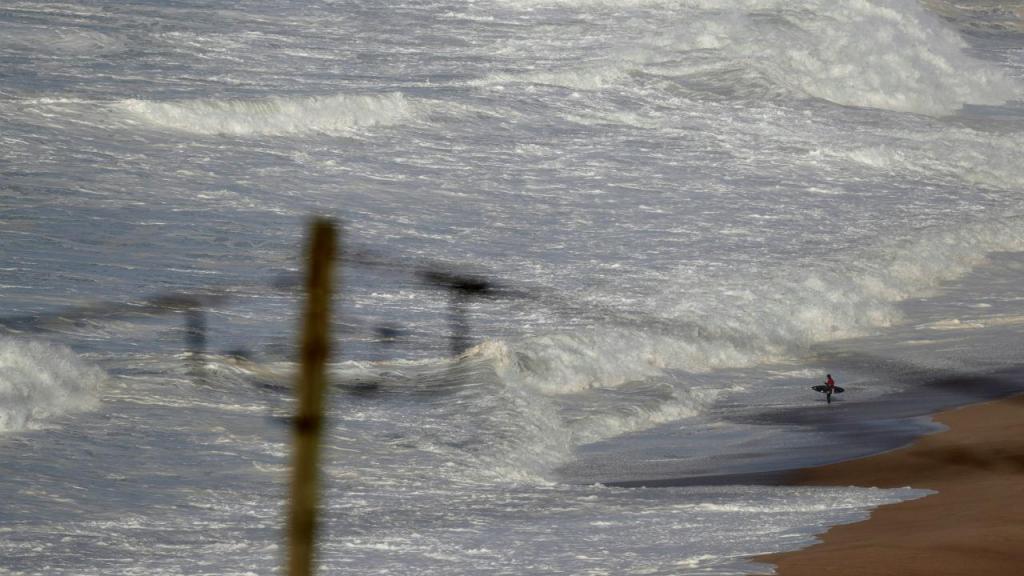 As grandes ondas da Nazaré