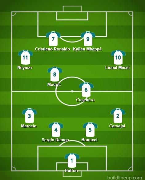 Modric desbanca Cristiano Ronaldo e é eleito o melhor jogador do Mundial