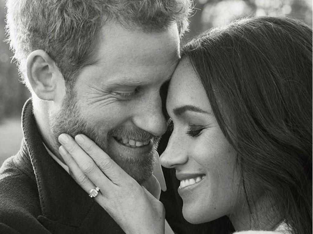 Foto oficial do noivado do Príncipe Harry e Meghan Markle