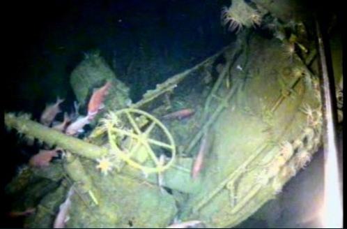 Submarino encontrado 103 anos depois