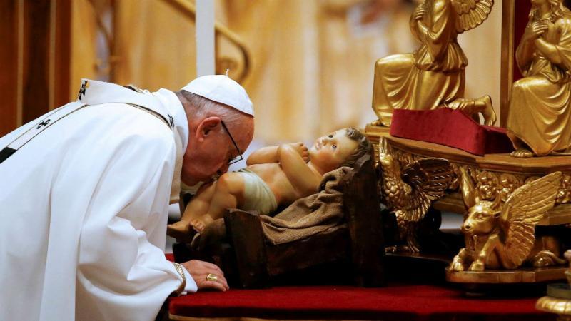 Papa Francisco, na Basílica de São Pedro, Vaticano