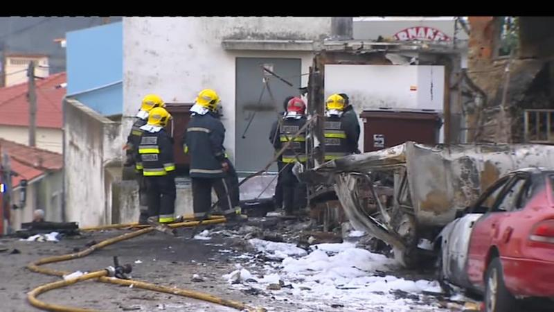 Alcanena: causas da explosão ainda por apurar