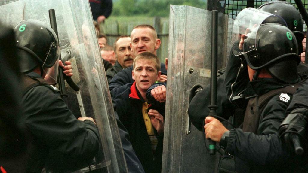 Protestos no Ulster (Irlanda do Norte) - 1998