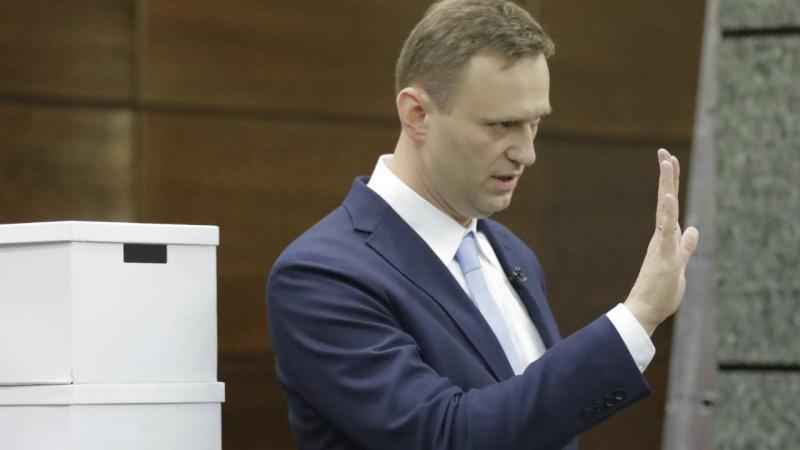 Alexei Navalny - opositor russo