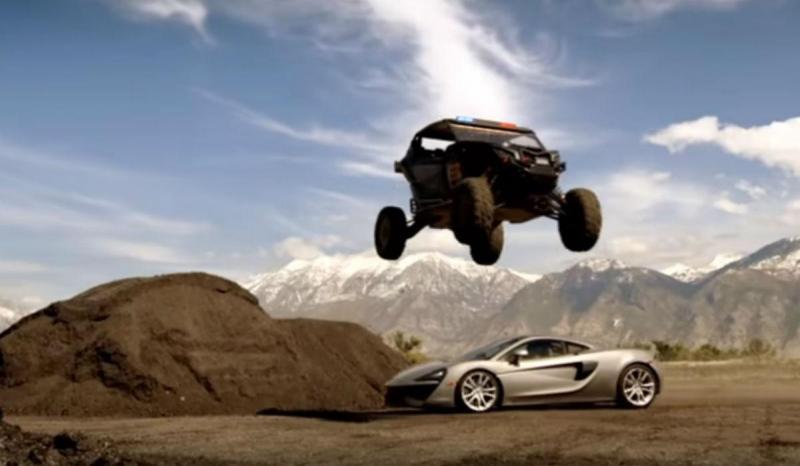 Ken Block no «teaser» de «Top Gear» (reprodução YouTube)