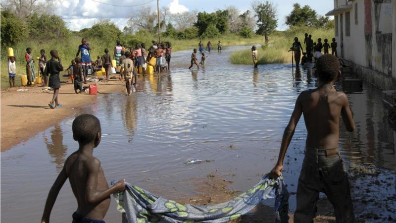 Moçambique - província de Sofala (arquivo)