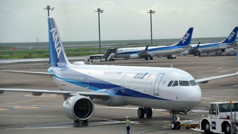 Avião dacompanhia aérea All-Nippon Airway