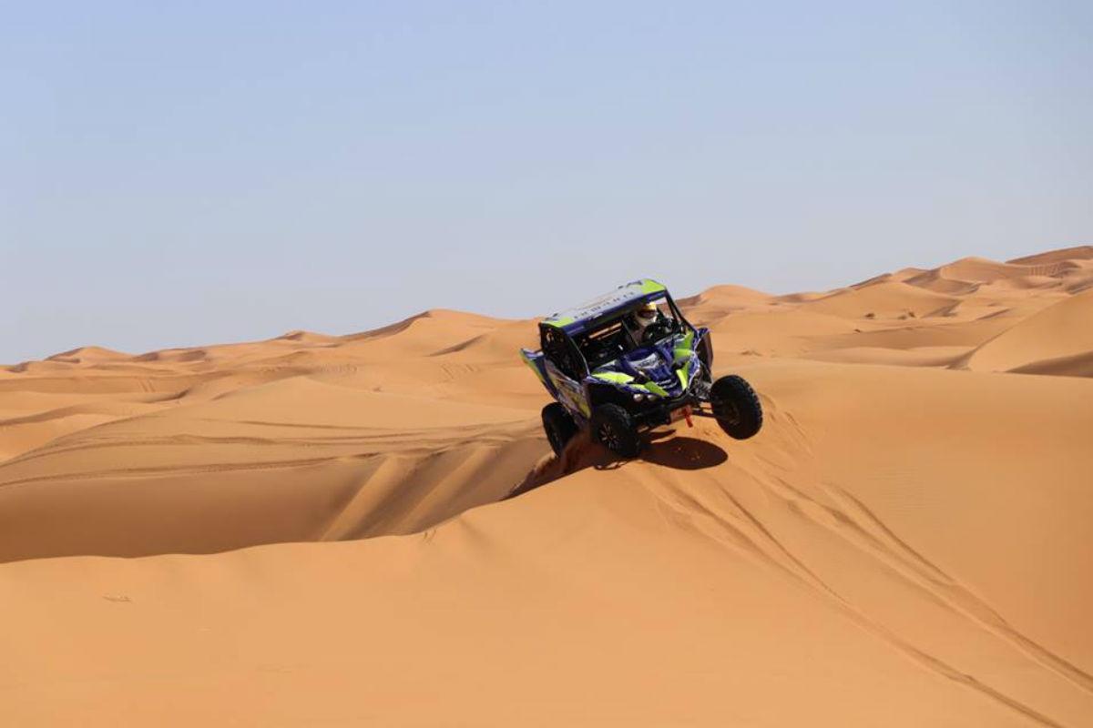 Pedro Mello Breyner e Pedro Velosa prontos para o Dakar