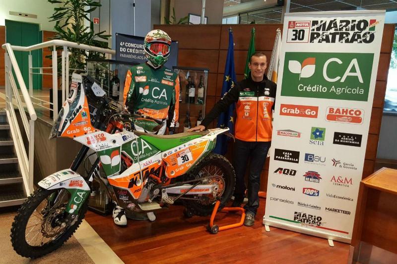 Mário Patrão apresenta-se para o Dakar 2018