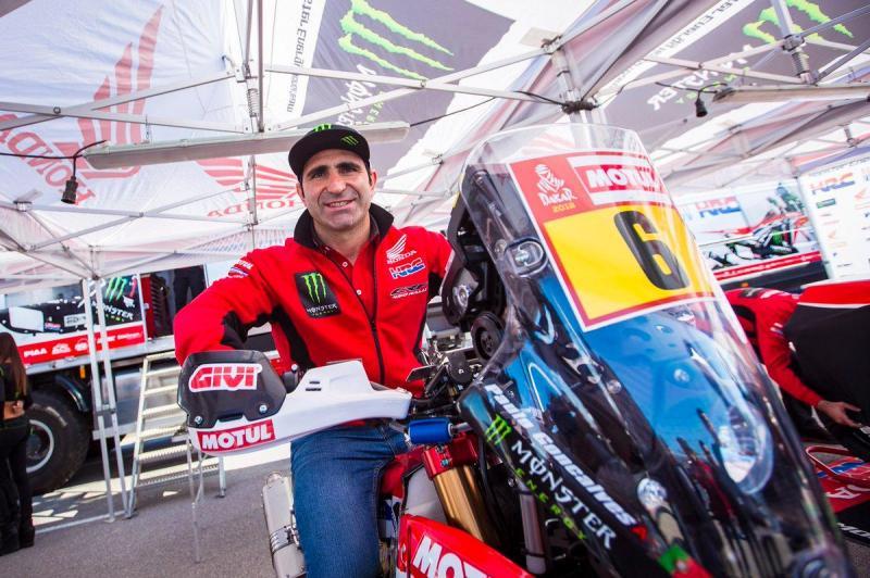 'Speedy' Gonçalves em risco de falhar o Dakar