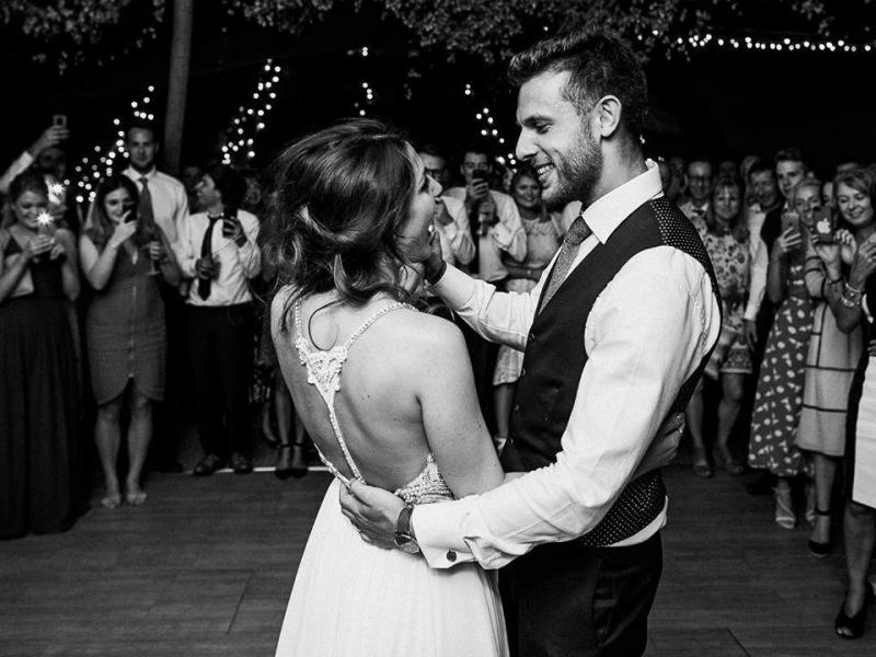 Heidi Savitt e Ed Savitt casaram este verão em Inglaterra
