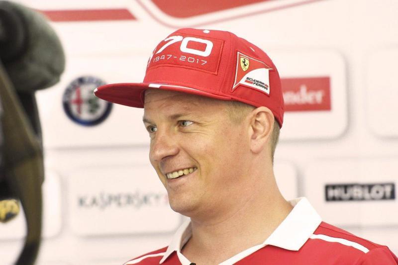 Kimi Raikkonen entrou no campeonato digital