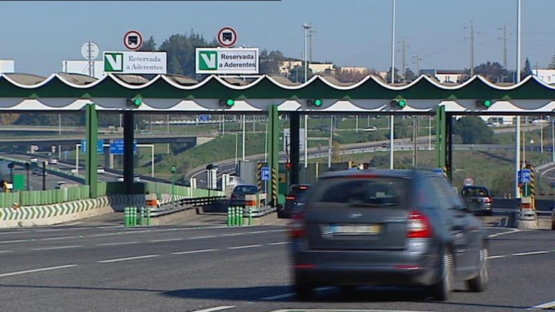 Portagens: viagem Lisboa-Porto é a que mais aumenta de preço