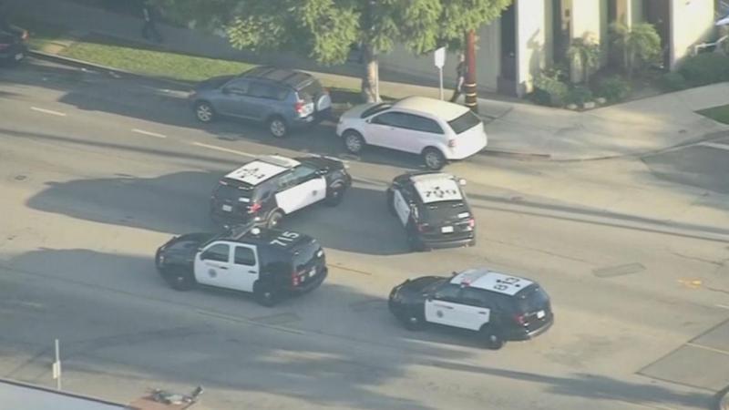 Polícia responde a tiroteio em Long Beach, na Califórnia, EUA