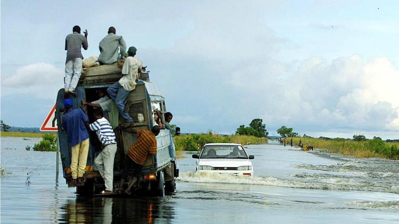 Rio Pungue - Beira (Moçambique)