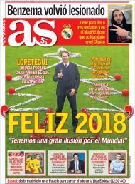 Revista de imprensa de 31 de dezembro de 2017