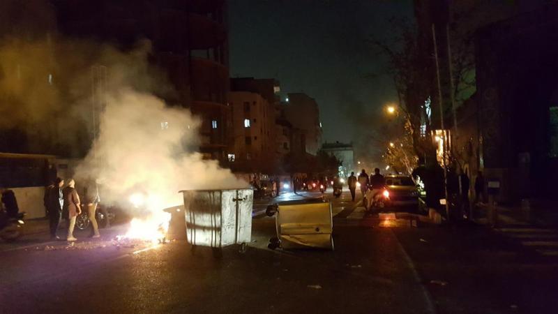 Teerão (Irão) - protestos