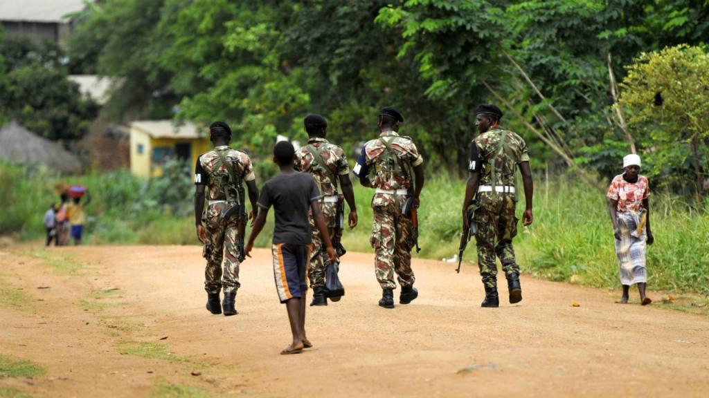Moçambique - Exército (arquivo)