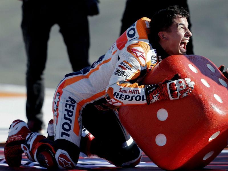 Marc Márquez é (tetra)campeão do mundo de MotoGP (Lusa)