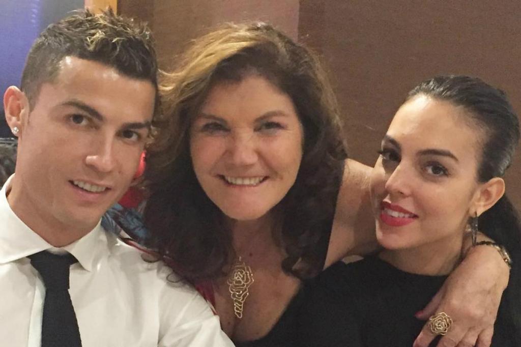 Cristiano Ronaldo, Dolores Aveiro e Georgina Rodríguez