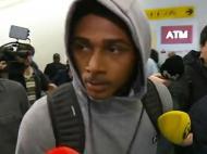 A chegada de Wendel a Lisboa