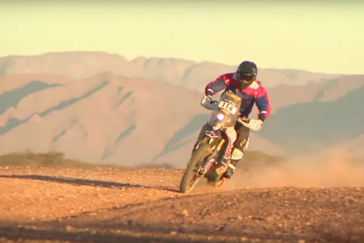 Luís Oliveira (reprodução YouTube Africa Eco Race)