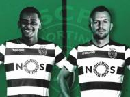Sporting anuncia Wendel e Misic (Facebook Sporting)
