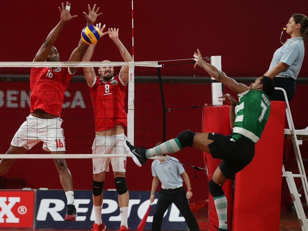Voleibol: Benfica-Sporting (Lusa)