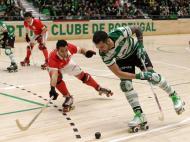Hóquei em Patins: Sporting-Benfica (Lusa)