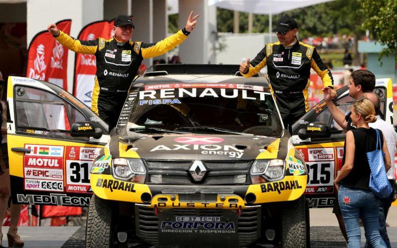 Carlos Sousa - Dakar 2018 (Reuters)