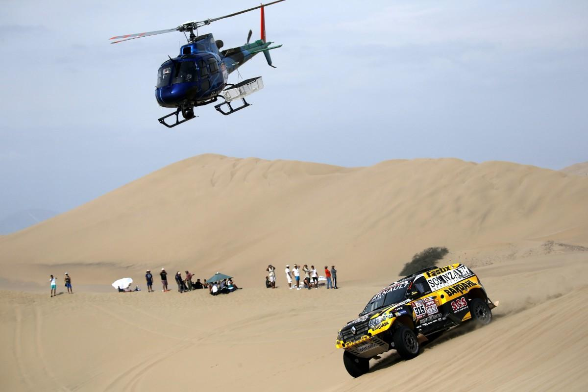 Carlos Sousa - Dakar 2018 (Lusa)