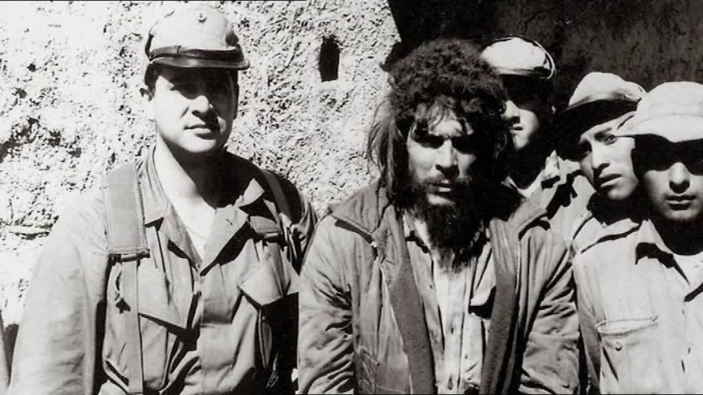 Che Guevara capturado na Bolívia