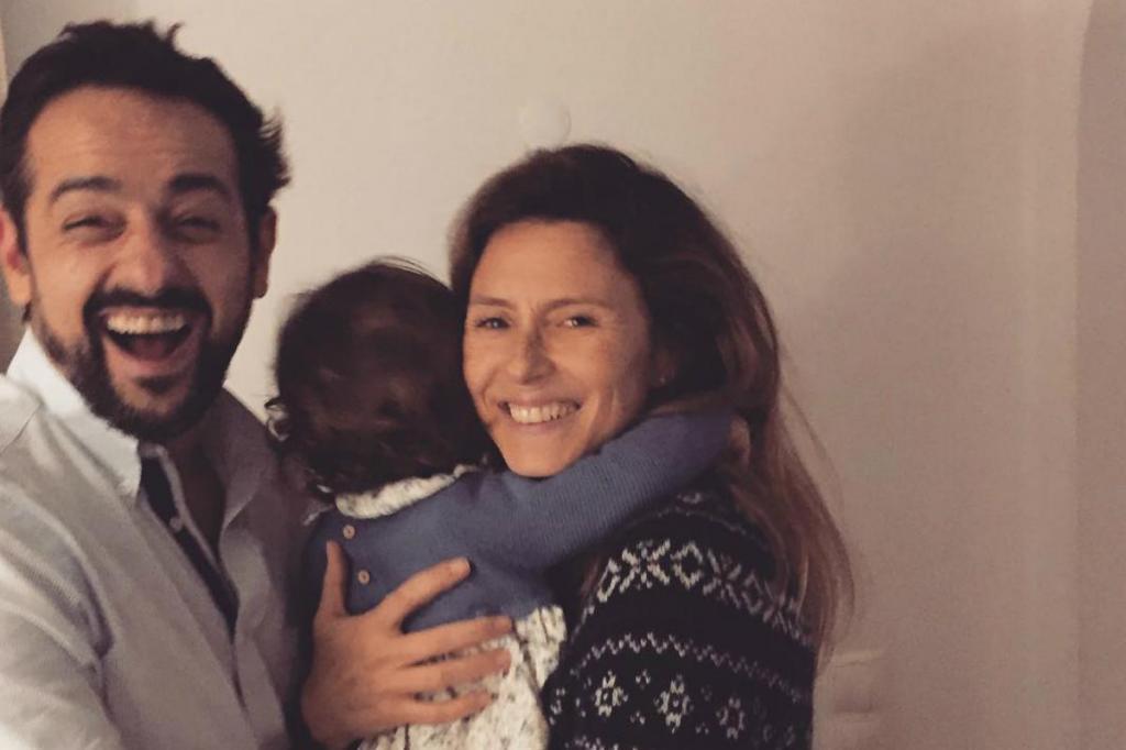 Gonçalo Diniz, Sofia Cerveira e a filha, Vitória