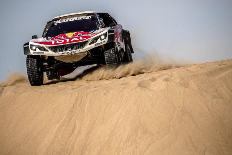 Loeb venceu a quarta etapa do Dakar