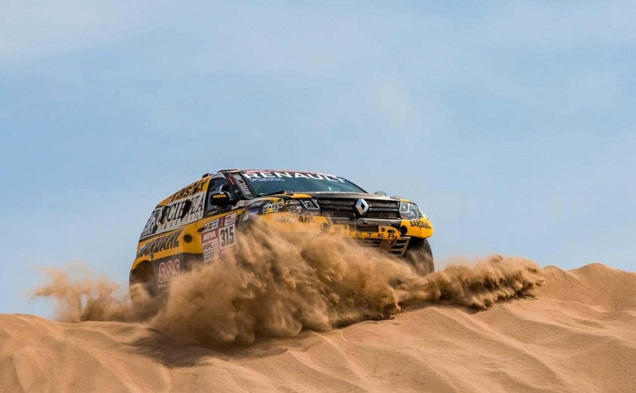 Carlos Sousa consegue 13.º lugar na quarta etapa do Dakar
