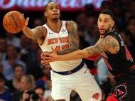 New York Knicks-Chicago Bulls (Reuters)