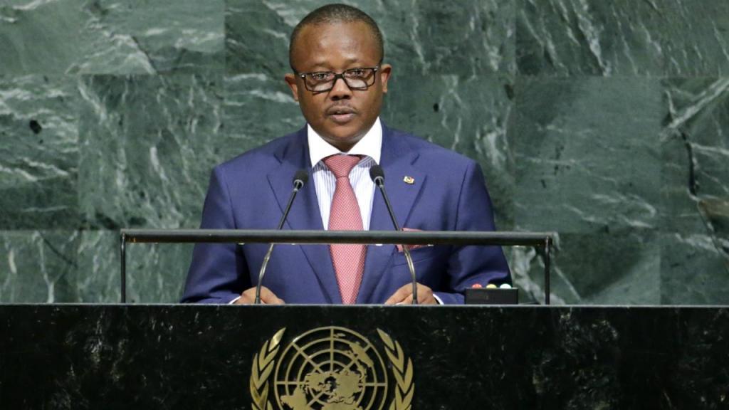 Umaro Sissoco Embaló - ex-primeiro-ministro da Guiné-Bissau