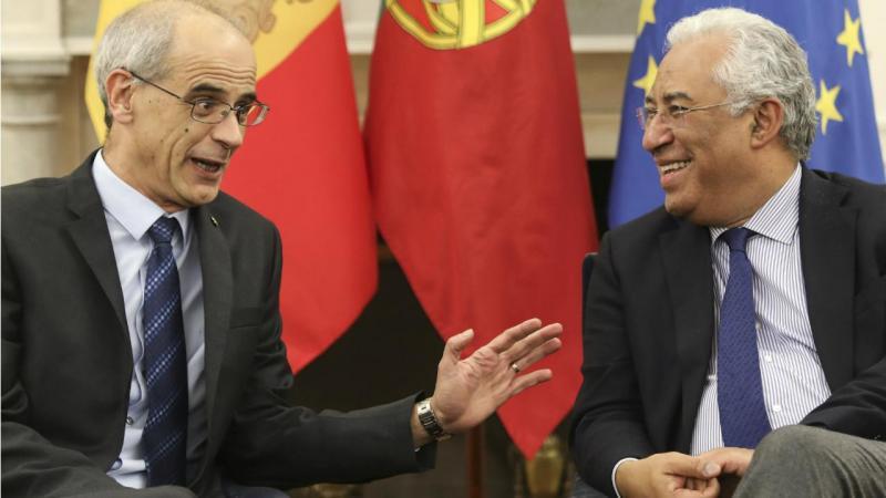 Antonio Martí, primeiro-ministro de Andorra, e António Costa